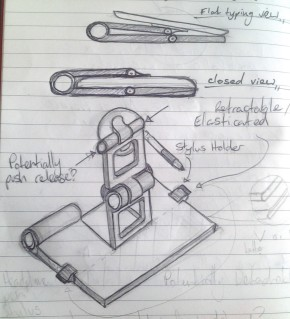 iPad Case:Stand Concept