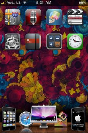 Custom iPhone Theme Design