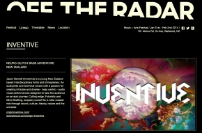 Off The Radar Webpage